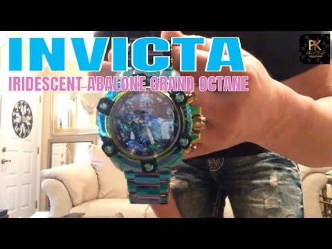 Invicta Watches Review : Invicta Irridecent Grand Octane Watch Review