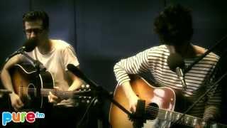 """Pure Fm : BB Brunes """"Coups et Blessures"""" / """"Stéréo"""" en acoustique (HD)"""