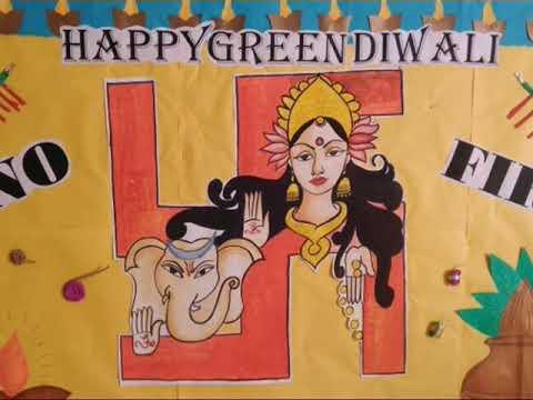 Diwalidisplayboard Diwalibulletinboard Displayboardideasdiwali