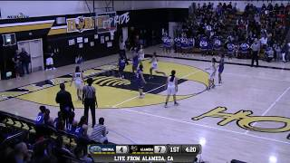 Encinal vs Alameda High School Girls Basketball LIVE 1/20/18