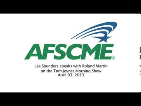 Lee Saunders speaks with Roland Martin