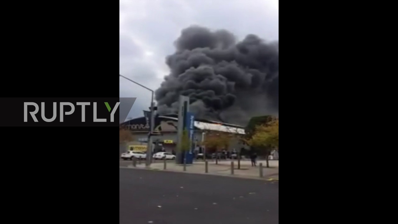 Australia Huge Fire Breaks Out At Sydney Olympic Park Man Hospitalised
