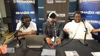 Arsonal and Big T Talk Mess Before Total Slaughter Battle on Sway in the Morning