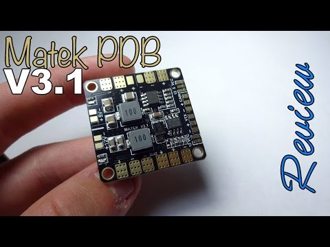 Matek Mini Power Hub PDB V3.1 Review