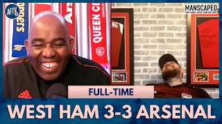 West Ham 3-3 Arsenal | Disgusted & Happy! (DT's Mixed Emotions)