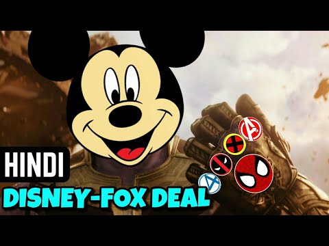 Disney-Fox Takeover Full Breakdown in Hindi | Marvel India