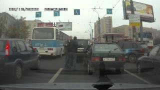 Драка водителей, ДТП, хамство на дороге.