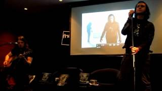 WhiteOmega (acoustic) - Moonspell live at Fnac Colombo, Lisbon, PT, 26.04.2012