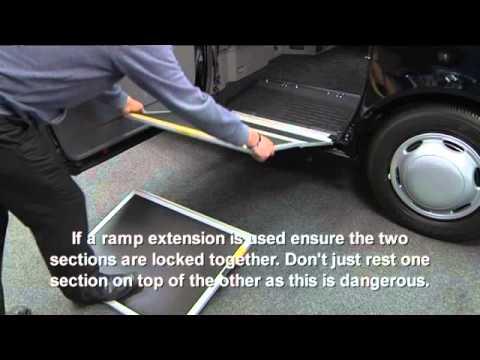 Wheelchair Access London Taxi