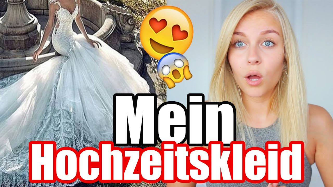 OMG ... Mein perfektes Hochzeitskleid 😍 ! | Dagi Bee - YouTube
