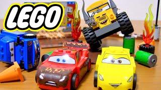 LEGO JUNIORS カーズ3 サンダーホローのクレイジー8レースを組み立て・開封紹介⭐️Disney Pixar Cars3 Lego TOY thumbnail