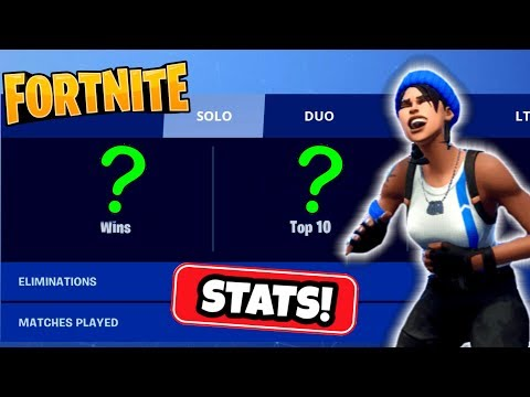 SHOWING MY FORTNITE STATS!! LOL!