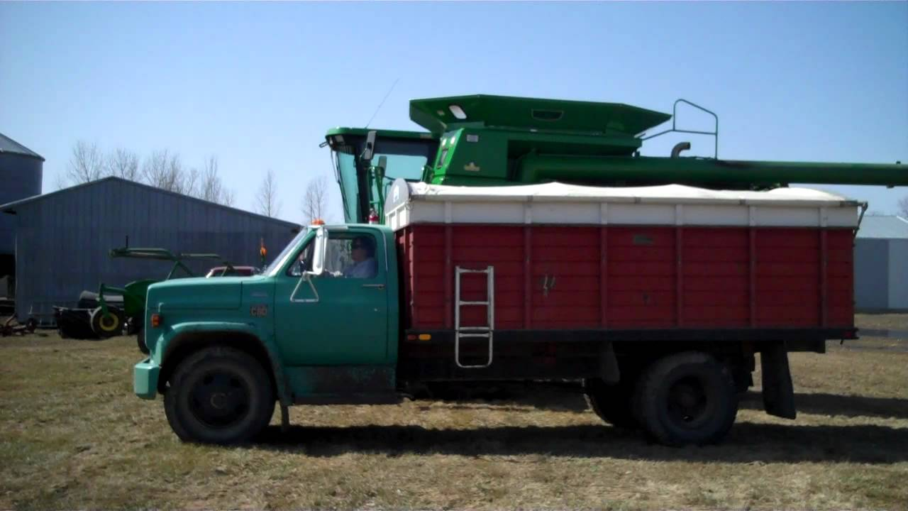 1973 Mack Tractor Truck : Brooks chev c grain truck april mack
