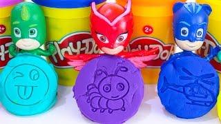 ГЕРОИ В МАСКАХ Новые серии ПЛЕЙ ДО Развивающие мультики для детей Игрушки Герои в масках на русском