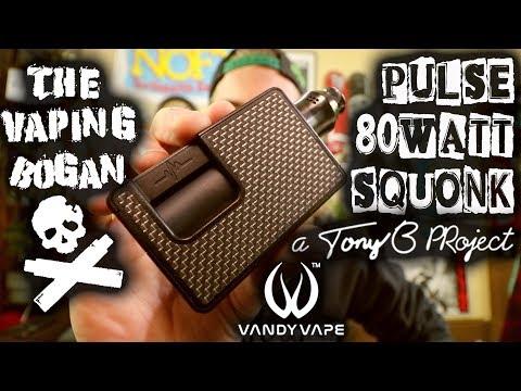 Pulse 80 Watt | Tony B X Vandy Vape | The Vaping Bogan