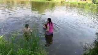видео Отдых с детьми на природе