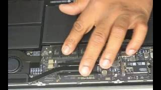 Macbook Air A1465 SSd Hard Drive Replacement