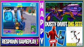 *NEW* Fortnite: Leaked Respawning Van Gameplay, Bow Release Date, Dusty Digging & More!