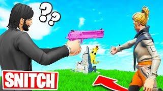 SNITCH OR DIE! *NEW* Hide & Seek Gamemode (Fortnite Creative)