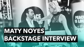 Maty Noyes Backstage Interview - The 2015 Nobel Peace Prize Concert