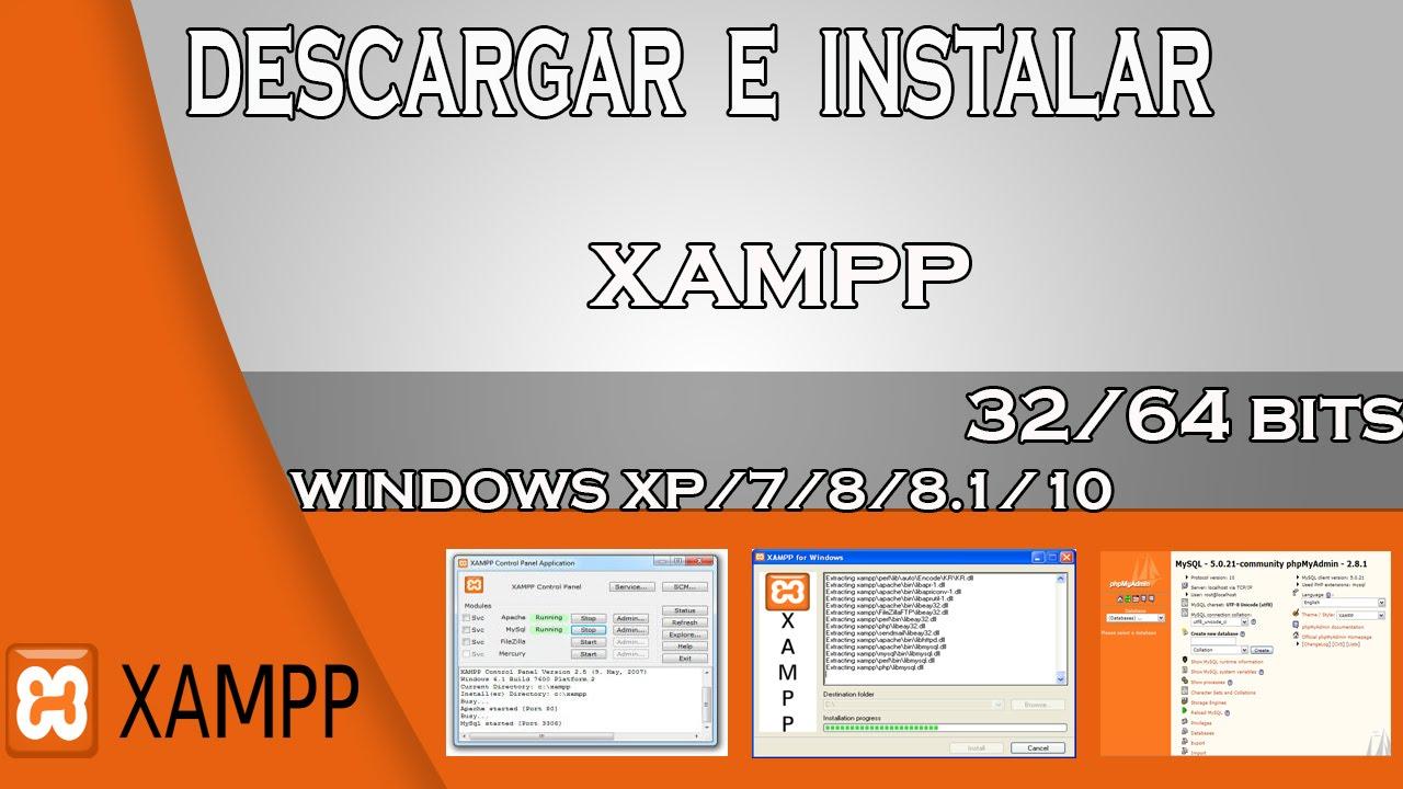 xampp 64 bits
