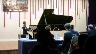 1st mozart piano competition 2015 sonata kv 545 by v minh quang 9 years