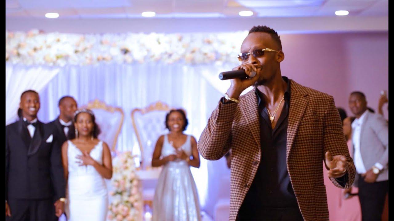 Download The Most Lit 🔥 Reception  MEDDY Singing  In Jackson & Rose's Wedding #fidelimage