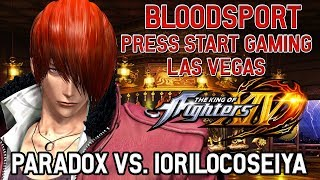 KOFXIV Paradox vs. Iorilocoseiya @ Bloodsport | Press Start Gaming Center - Las Vegas, NV thumbnail