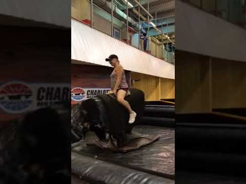 Cara Riding The Bull At Dale Jrs Whiskey River