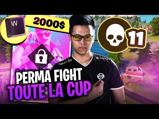 JE PERMA FIGHT TOUTE LA CUP (W-KEY) ► SOLO CASH CUP