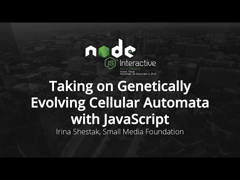 Taking on Genetically Evolving Cellular Automata with JavaScript by Irina Shestak