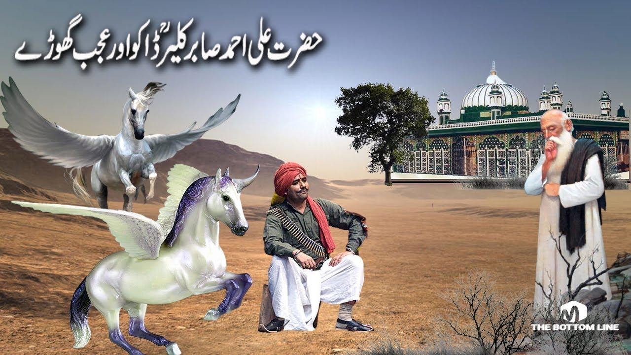 Hazrat Ali Ahmed Sabir kaliyar Daku And Strange Horse/हज़रत अली अहमद साबिर कलियार डाकू और अजीब घोड़े