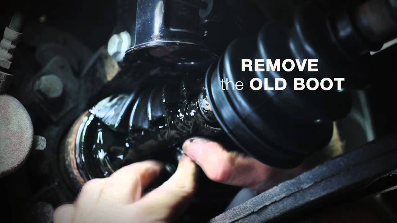 how to replace cv boots