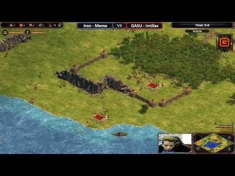 AoE DE | Memo - Iron vs GASU - Imtlias | Final - Map 1: Medit | AoE DE Trial Cup Season 2