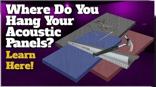 How To Place DIY Acoustic Panels - Easy Placement Tips