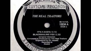 """The Real Traitors - """"It's a Waste"""" 7"""" EP (1982)"""