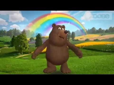 Загадки для детей с ответами - Маша и Медведь загадка №1