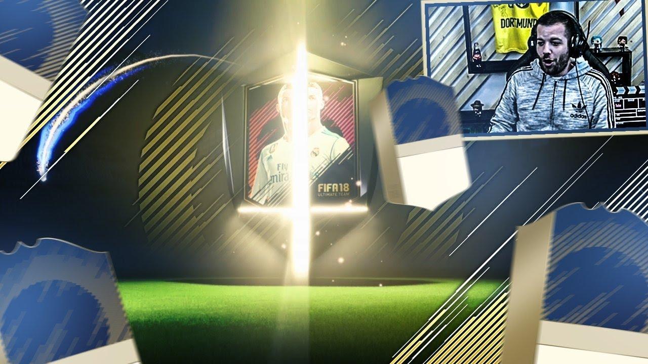 ICON GARANTIE DANS MES PACKS! - FIFA18