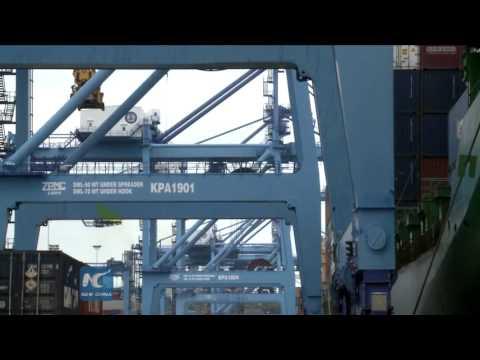 Kenya crane operator's Chinese story