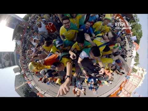 The FIFA Fan Fest as you've never seen it before!