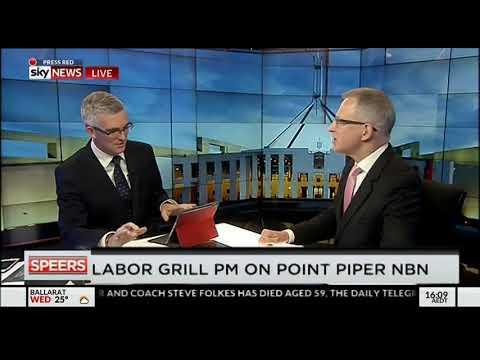 Paul Fletcher speaks with David Speers on Sky News Live