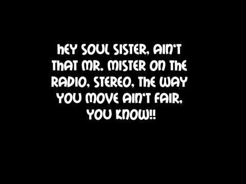 Train -Soul Sister Lyrics