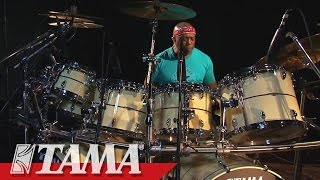 TAMA STAR drums featuring Billy Cobham - Mirage from Palindrome