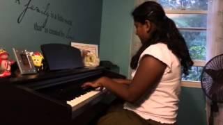 Nandhini piano performance