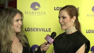 Scandle's Darby Stanchfield LOSERVILLE Premiere