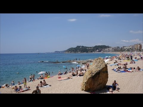 Lloret de Mar Beach Catalonia,Spain