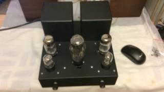 ламповый усилитель 6п3с+6н9с