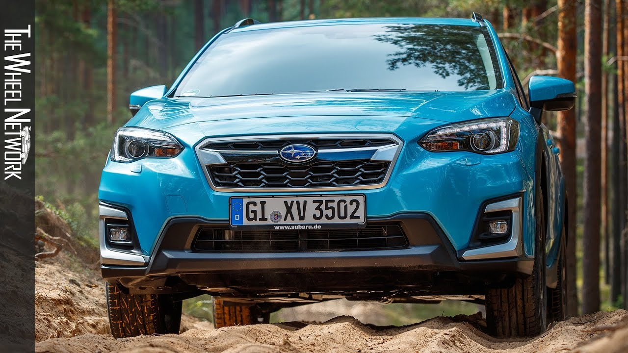 2020 Subaru Xv E Boxer Hybrid Road Trail Driving Interior