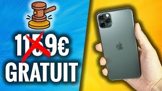 We open a FREE Ebay ! (like iPhone 11 Pro at 0 €)