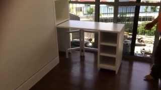Hwb Hidden Table. Arc @tampines Ec.+ Multi-purpose Bench/sofa/coffeetable/kid's Dining &playtable